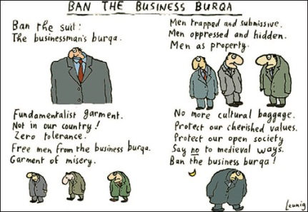 Ban The Business Burqa