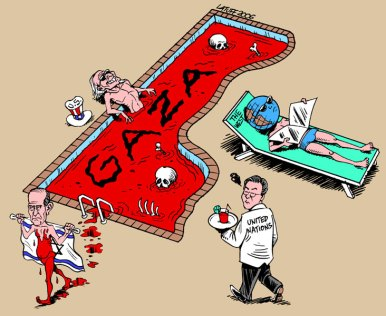Gaza cartoon