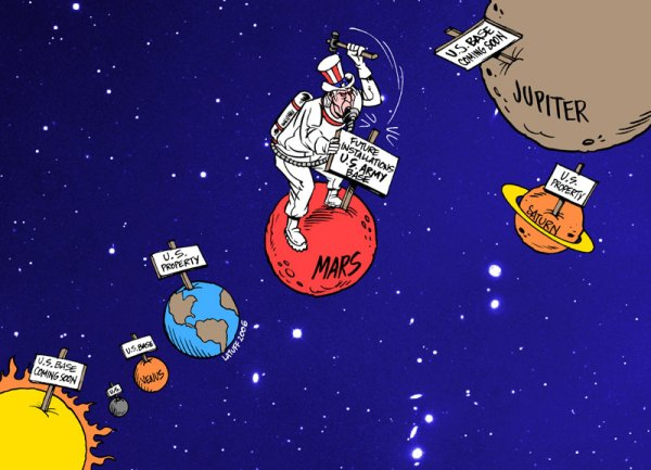 https://peoplesgeography.files.wordpress.com/2006/11/latuff-us-space-policy.jpg?resize=600%2C433