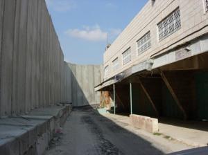 Section of wall enclosing Bethlehem