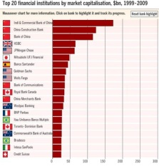 Top 20 Financial Institutions 2009